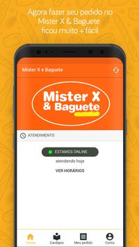 Mister X & Baguete poster