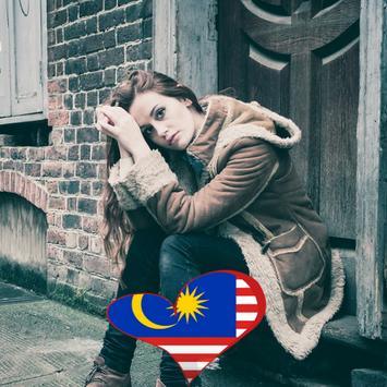 Malaysia Flag Heart Effect : Photo Editor screenshot 1