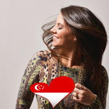 Singapore Flag Heart Effect : Photo Editor screenshot 3