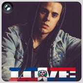 Dominican Flag Love Effect : Photo Editor icon