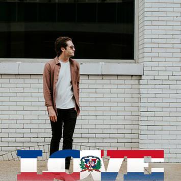 Dominican Flag Love Effect : Photo Editor screenshot 2