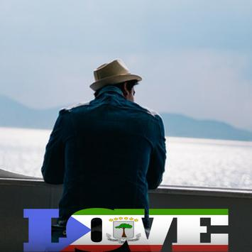 Equatorial Guinea Flag Love Effect : Photo Editor screenshot 3