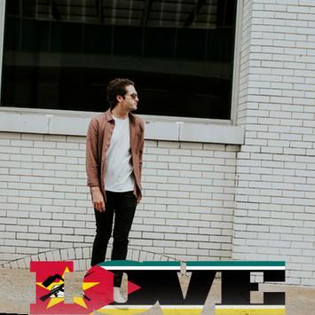 Mozambique Flag Love Effect : Photo Editor screenshot 1
