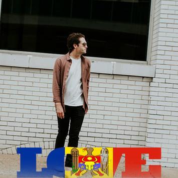 Moldova Flag Love Effect : Photo Editor screenshot 2
