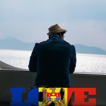 Moldova Flag Love Effect : Photo Editor screenshot 3