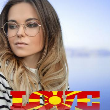 Macedonia Flag Love Effect : Photo Editor screenshot 1