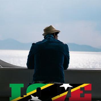 St Kitts & Nevis Flag Love Effect : Photo Editor screenshot 3
