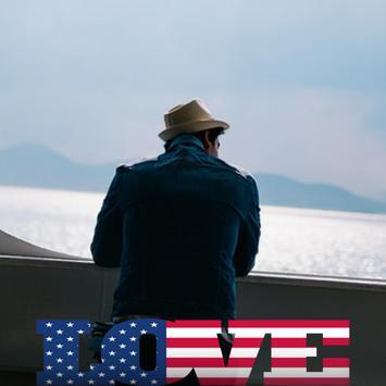 USA Flag Love Effect : Photo Editor screenshot 3