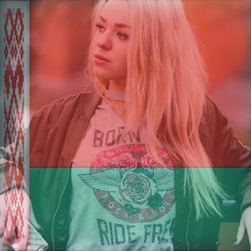 Belarus Flag On Face Maker : Photo Editor poster