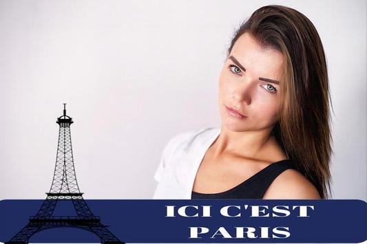 PSG effects Ici C'est Paris : Photo Editor poster