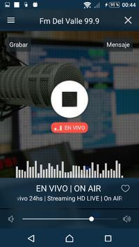 Fm Del Valle Trevelin 99.9 screenshot 1