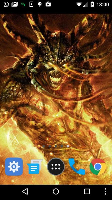 Demon Live Wallpaper Poster Screenshot 1