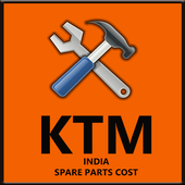 Spare Parts Price List ktm (India) icon