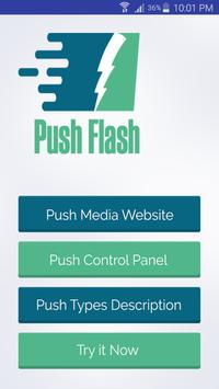 Push Flash Media Demo poster