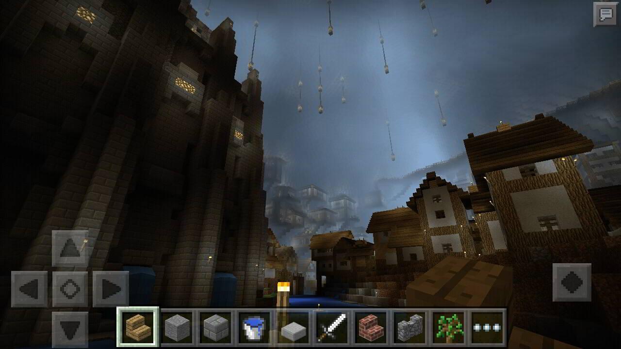 minecraft underground map screen versions android apk