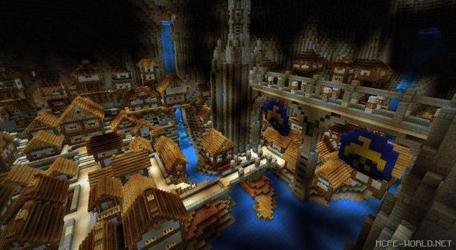 Underground city minecraft map apk download free entertainment app underground city minecraft map apk screenshot gumiabroncs Image collections
