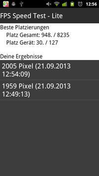 FPS Speed Test apk screenshot