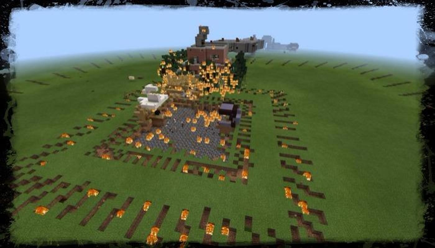 Nuke Explosion Minecraft