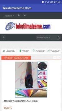 Tekstilmalzeme poster