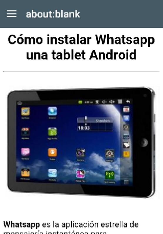 whatsapp apk 2017 para tablet