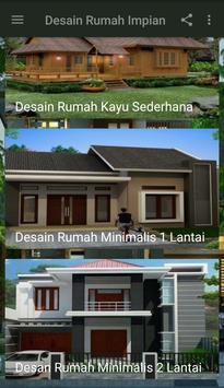 Desain Rumah Impian poster