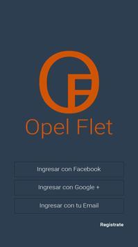 Opel Flet poster