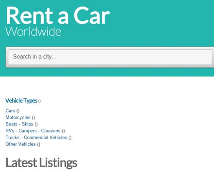 Rent a Car Worldwide apk screenshot