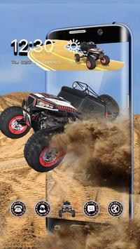 3D Desert Chariot poster