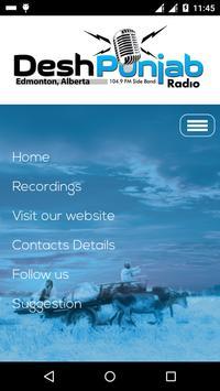 DeshPunjab Radio apk screenshot