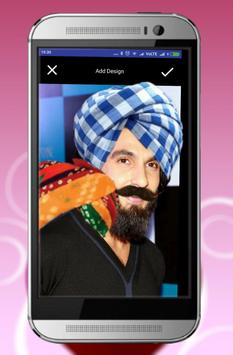 Indian Beard, Moustache, Hairstyle:  Photo editor poster