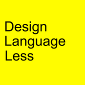 Design Language Less : GroundX icon
