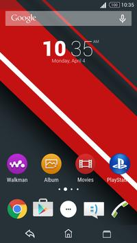 XpeTheme-Red Stripes poster