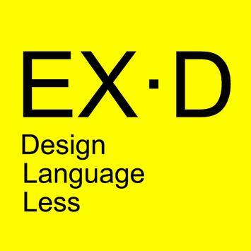 Design Language Less poster