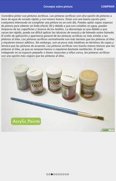 Consejos sobre pintura screenshot 1