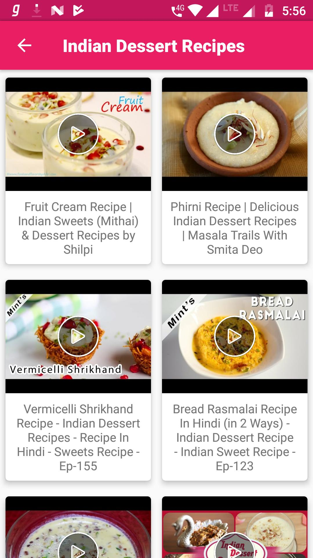 Dessert Recipes Video Easy Quick Best Healthy For Android Apk Download