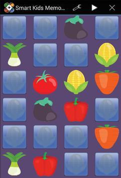 Smart Kids Memory Game apk screenshot