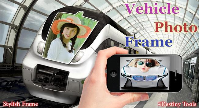 Vehicle Hoarding Photo Frame poster