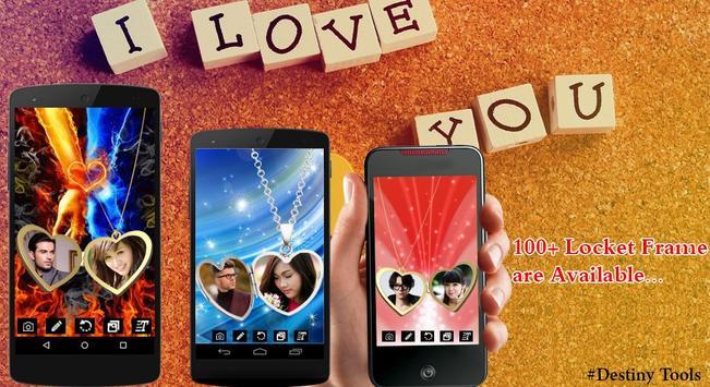 Love Locket Photo Frame poster