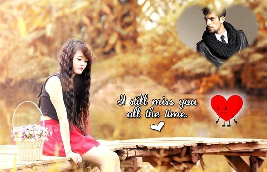 Miss You Photo Frame screenshot 10