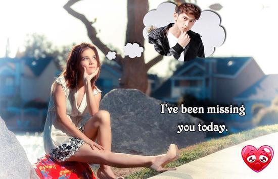 Miss You Photo Frame screenshot 13