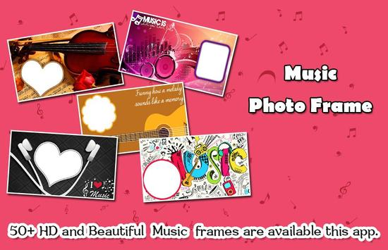 Boys with Music Photo Editor - Music Photo Frame screenshot 1