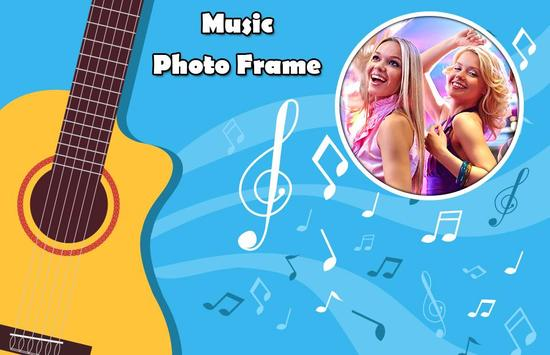 Boys with Music Photo Editor - Music Photo Frame screenshot 3