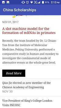 China Scholarships apk screenshot