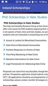 Ireland Scholarships screenshot 3