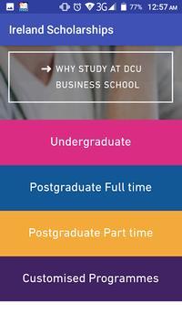Ireland Scholarships screenshot 1