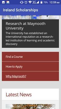 Ireland Scholarships screenshot 5
