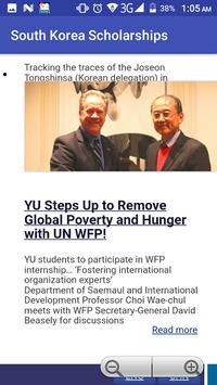 South Korea Scholarships screenshot 3