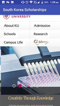 South Korea Scholarships screenshot 6
