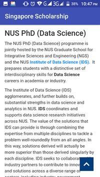 Singapore Scholarship apk screenshot
