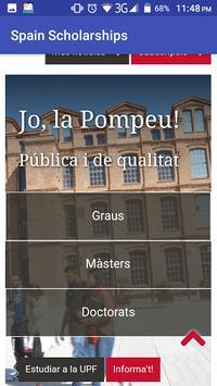 Spain Scholarships apk screenshot